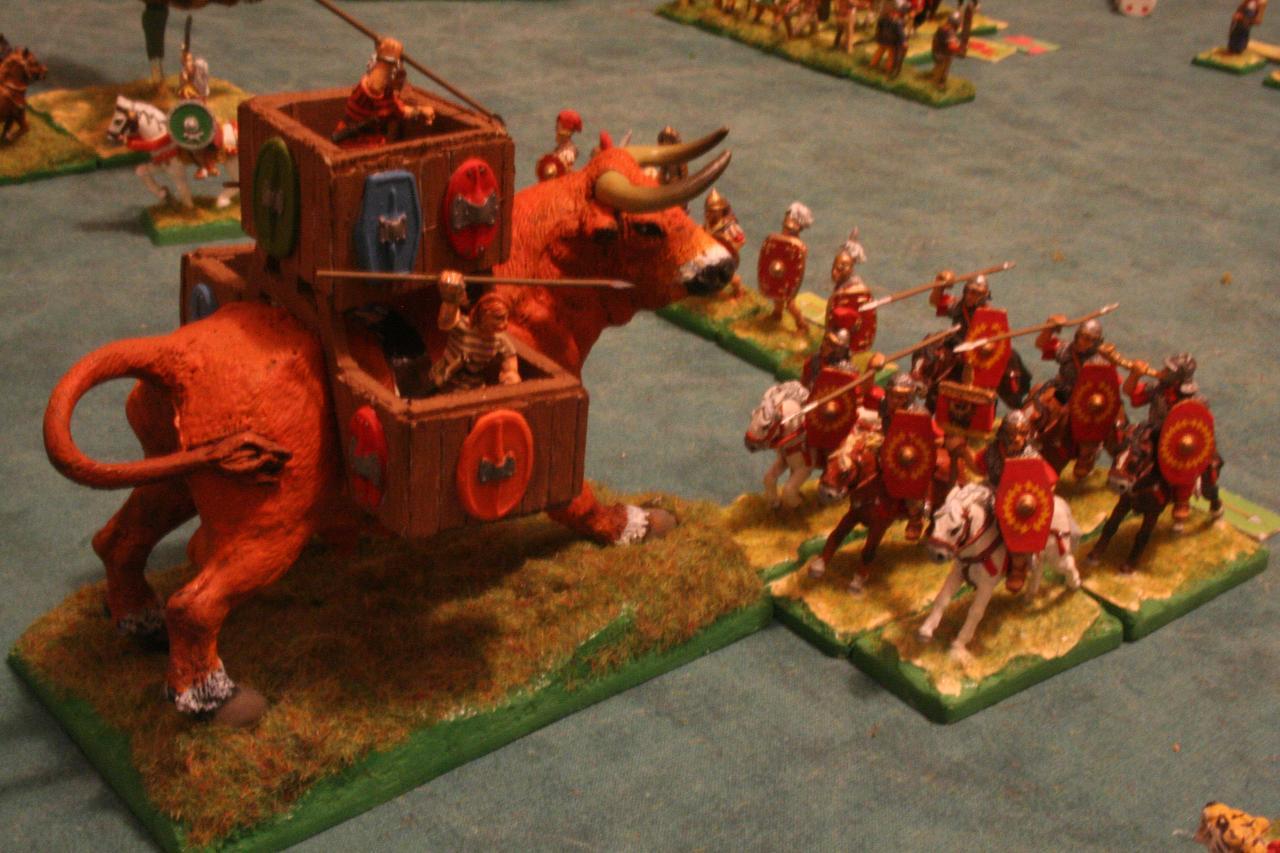 Cesare contro Budicca, Axena, Olimpia, Spartaco e Krixos Battaglia_027
