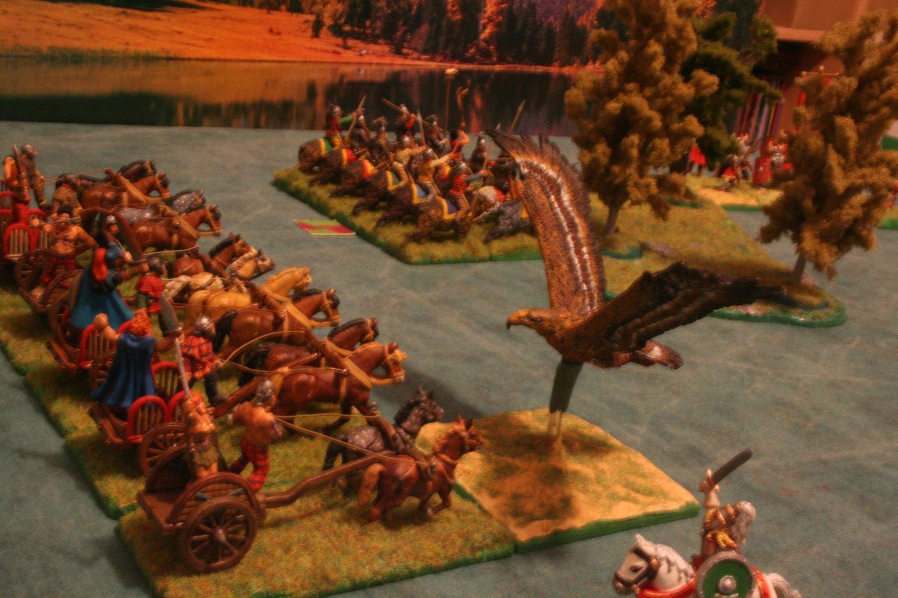 Cesare contro Budicca, Axena, Olimpia, Spartaco e Krixos Battaglia_028